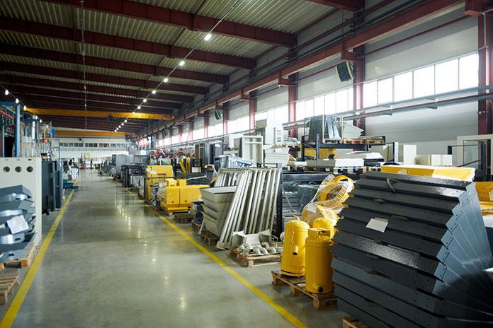 Specjalistyczne hale produkcyjne